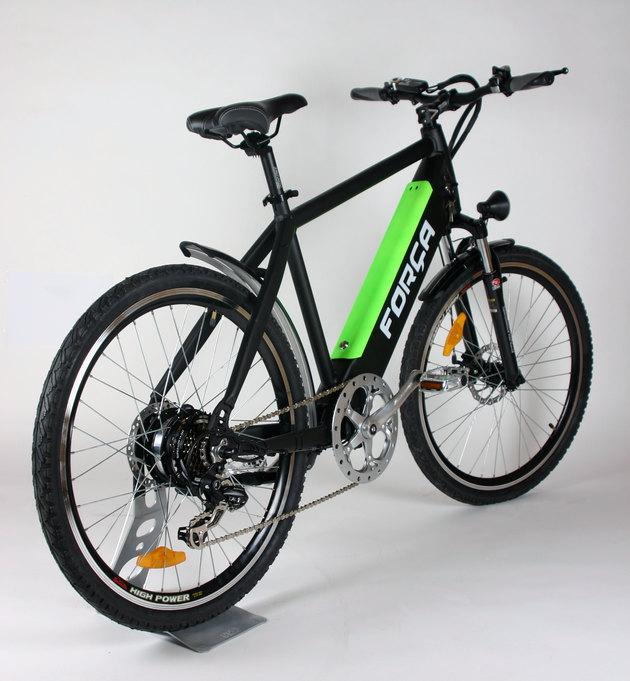 team e bike 26 pedelec matt schwarz mit lithium akku. Black Bedroom Furniture Sets. Home Design Ideas