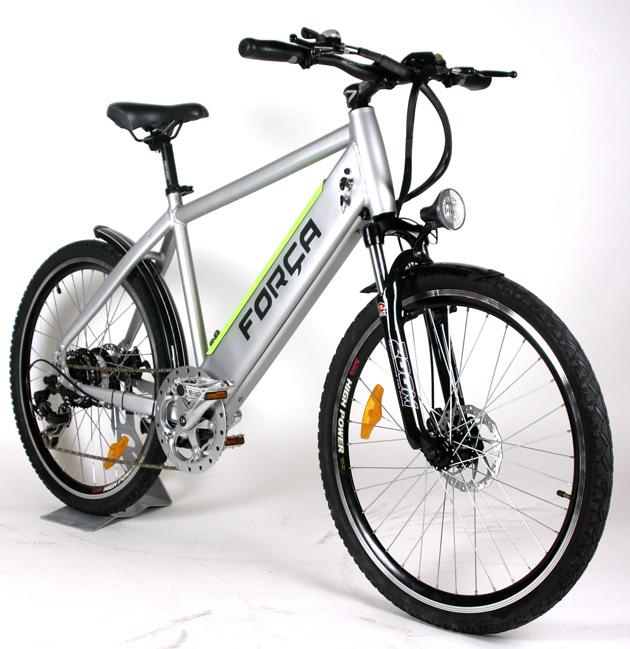team e bike 26 pedelec matt silber mit lithium akku. Black Bedroom Furniture Sets. Home Design Ideas