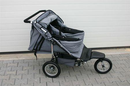 crown tt18 zwillingskinderwagen geschwisterwagen twin ebay. Black Bedroom Furniture Sets. Home Design Ideas