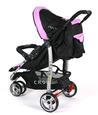 crown kinderwagen buggy jogger ultraleicht aluminium sportwagen deluxe 360 pink ebay. Black Bedroom Furniture Sets. Home Design Ideas