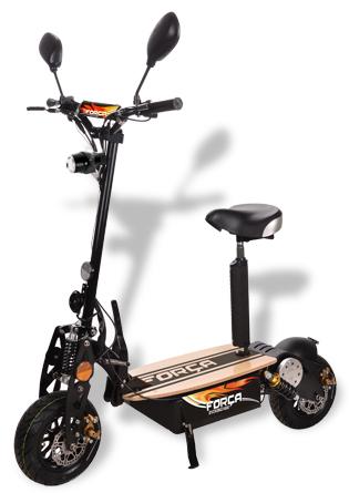 forca elektroroller scooter xxl reifen e scooter 43 kmh. Black Bedroom Furniture Sets. Home Design Ideas