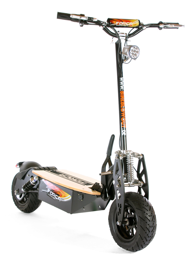 Evoking BKEdition Bk 1 - FORCA EVOKING-1600: HighPower E-Scooter wieder lieferbar
