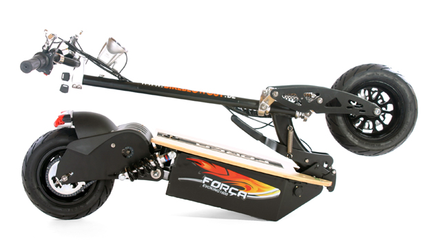 Evoking BKEdition Bk 4 - FORCA EVOKING-1600: HighPower E-Scooter wieder lieferbar